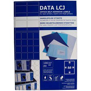 ETIKETE DATA LCJ79 105x148mm, 4etik.na A4, 400etiketa u kut.100/1