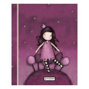 Fascikl klapa s gumicom karton A4 Puddles of Love Gorjuss G2A00002