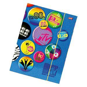 Fascikl s gumicom A4 MTV 291913