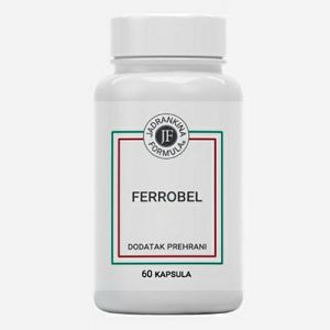 FERROBEL željezo,dodatak prehrani 60 kapsula 650442