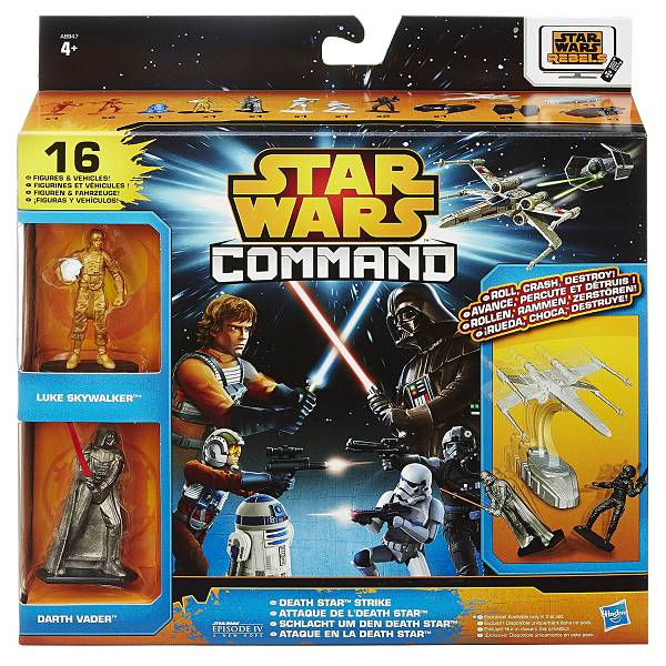 Figure Star Wars Command Death Star Strike 16/1 Hasbro