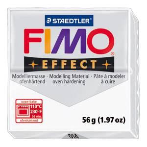 Fimo masa Effect 56g 014 prozirno bijela