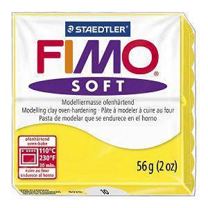 Fimo masa Soft 56g 10 limun žuta