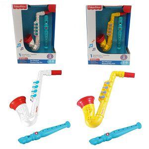 Fisher-Price Glazbeni set saksofon i flauta 619223 2motiva