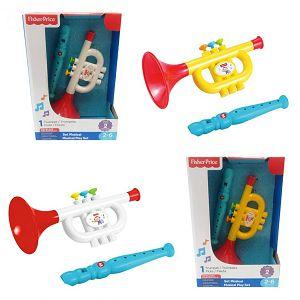 Fisher-Price Glazbeni set truba i flauta 619230 2motiva