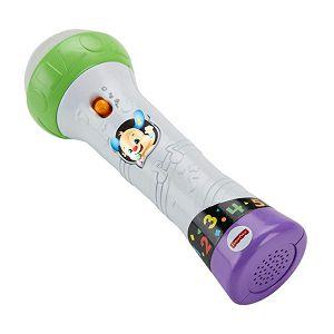 Fisher-Price mikrofon za sveznalice za pjevanje i snimanje, 18-36mj 440119