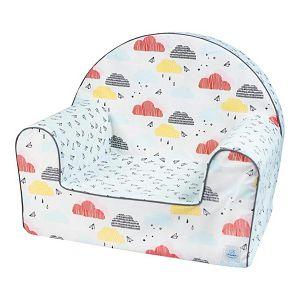 Fotelja dječja Šareni oblaci Bubaba