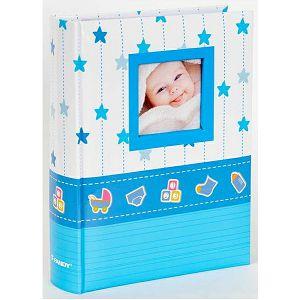 Foto album Fandy B-46200SB LINK 10x15cm/200slika za umetanje plavi/rozi