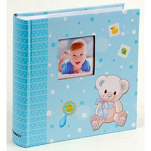 Foto album Fandy KD-462008B Twinkle 10x15cm, 200 slika za umetanje, dječji, plavi