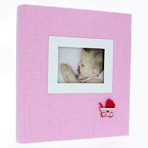 FOTO ALBUM GEDEON DBCL30 honey 29x32cm/60stranica za lijepiti rozi