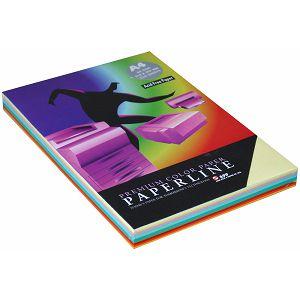 Fotokop.papir Paperl.pastel/inten.boja, mix 10x25 A4 80gr 250/1