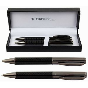 GARNITURA OLOVAKA Fandy JO.TURTLE siva kemijska+tehnička olovka