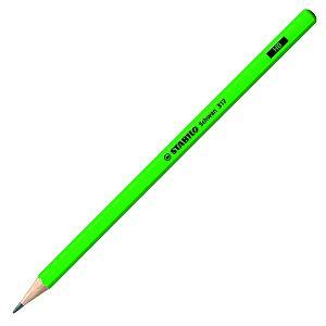 Grafitna olovka drvena Stabilo Schwan 317 neon zelena HB