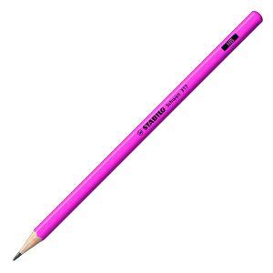 Grafitna olovka drvena Stabilo Schwan 317 neon roza HB