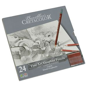 Grafitna olovka Fine art Cretacolor 24/1 160 24 2B-9B/H-9H 160248
