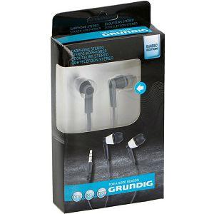 GRUNDIG Stereo Slušalice in-ear flat crne