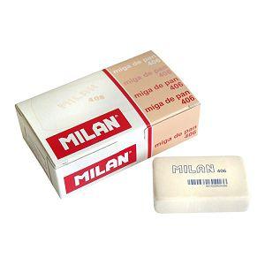 Gumica MILAN 406 velika bijela