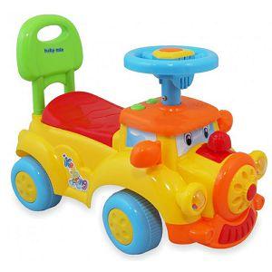 Guralica dječja Baby mix lokomotiva žuta
