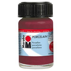 Hobby boja za porculan i keramiku 15ml Marabu borovnica 223