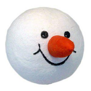 HOBBY Kugla od vate 40mm glava snjegovića s osmjehom