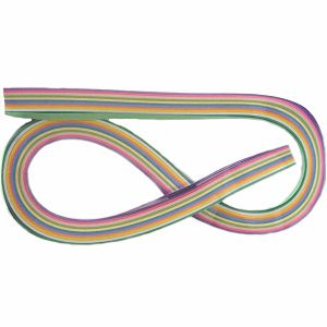 HOBBY PAPIRNATE trakice za QUILL 11boja multi pastel, mix 100/1 3358