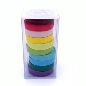 HOBBY SELOTEJP Washi tape 8mmx5m mix boje 10/1 9866