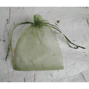 HOBBY vrećica organdi 10x13cm zelena