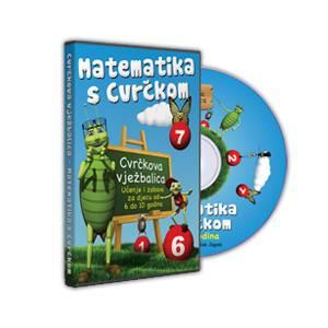 Interaktivni CD Matematika s Cvrčkom 6-10 godina