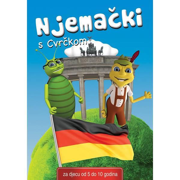 Interatkivni CD Njemački s Cvrčkom 5-10 godina
