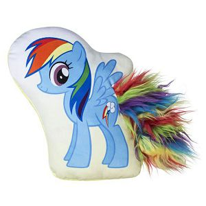 Jastuk ukrasni MY LITTLE PONY Rainbow Dash 36x36cm Ilanit 165004