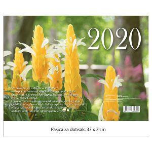 """Kalendar """"Cvijeće 2022"""" 13 listova, spirala"""