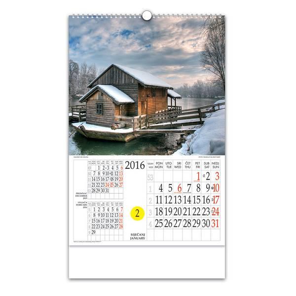 Kalendar Daleko od grada - NP 2016