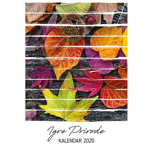 "Kalendar ""Igre prirode"" 13 listova, spirala"