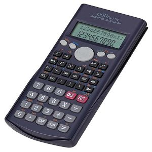 KALKULATOR DELI DI1710, tehnički, 240 funkcija, 10 mjesta 917102
