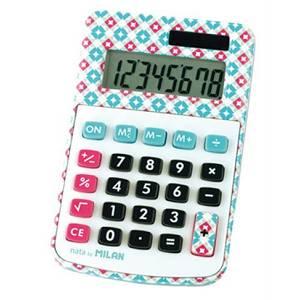 Kalkulator džepni Milan 150808ACBL s uzorkom