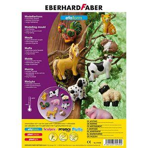 """Kalup """"Domaće životinje"""" Eberhard Faber plastični"""