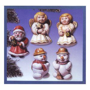 Kalup KeraFlot plastični božićni 2002-008