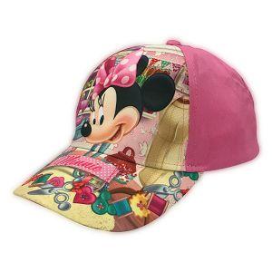 Kapa šilt Minnie 52-54 roza