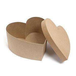 Kartonska kutija srce srednje