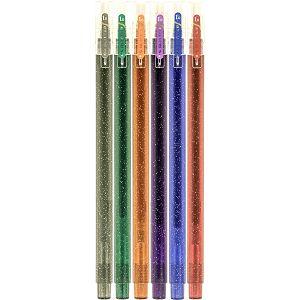 KEMIJSKA OLOVKA M&G AGPB-4415 Aurora glitter sa gel tintom 1.0mm 6/1