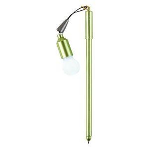 Kemijska olovka s mini lampom 0,7 mm 803479 3boje