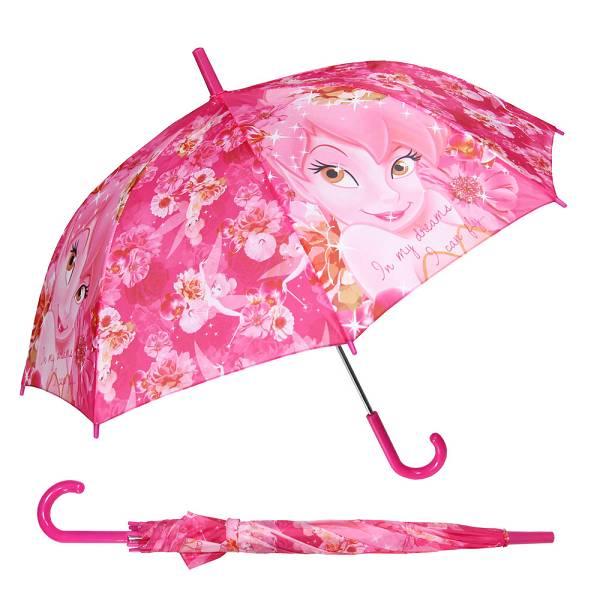 Kišobran djecji Premium aut. pvc drška 48cm Disney Fairies