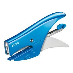 Klamerica ručna Leitz 5547 No.8 metalik svijetlo plava