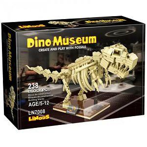 KOCKE LINoos Dinosaur Tyranosaurus, kostur 238kom 070085