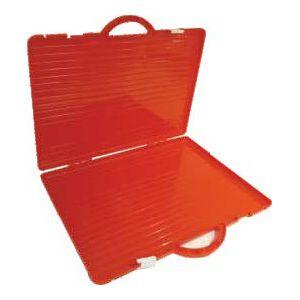 Koferčić pvc ARK 1304 37x52x3.5cm crveni