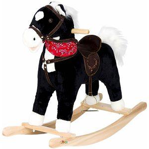 KONJIĆ ZA LJULJANJE Rocking Horse crni zvučni 251571