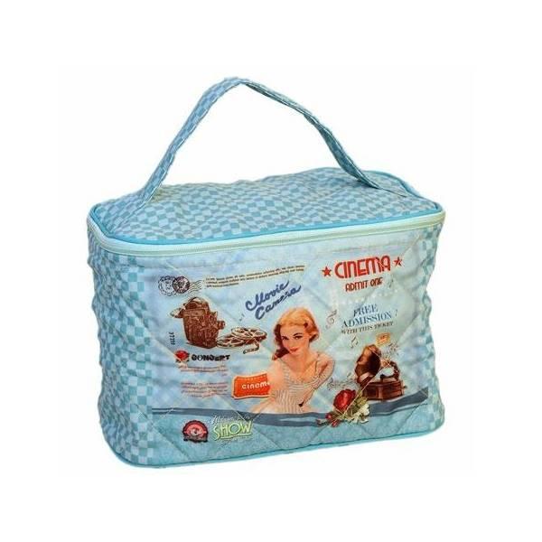 Kozmetička torbica 23x15x15 cm  pretty girl