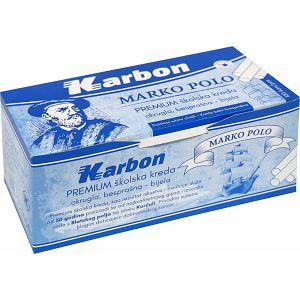 KREDA bijela, okrugla, besprašna KARBON Marko Polo 100/1 012092
