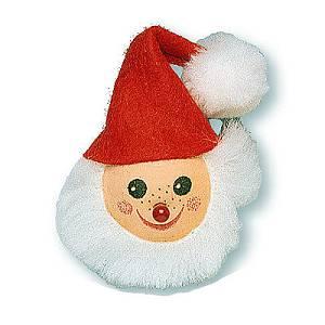 Kuglica od vate Djed Božićnjak 3cm