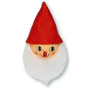 Kuglica od vate Djed Božićnjak 4cm